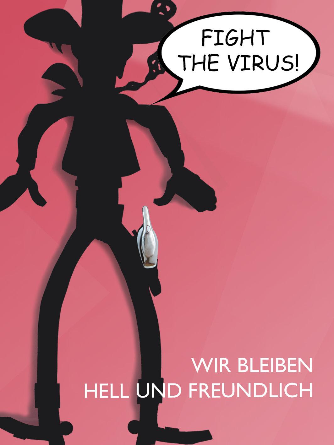 hell und freundlich - fight the virus